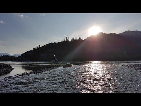 Athabasca River Canoe Trip 2017