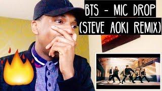 BTS 'MIC DROP' Steve Aoki Remix Official MV REACTION
