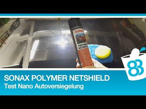 sonax nanoversiegelung polymer netshield test nano. Black Bedroom Furniture Sets. Home Design Ideas