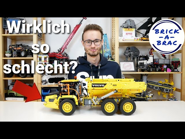 LEGO® Technic 42114 6x6 Volvo Articulated Hauler - wirklich so schlimm? // Review deutsch