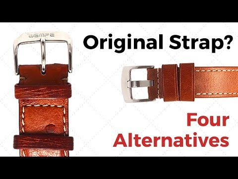 Do Original Watch Leather Straps Matter? 4 Alternatives To Rolex And Others ...