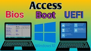 How to enter bios and UEFI boot menu on any laptop || lenovo ideapad 305