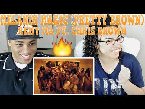 Remy Ma - Melanin Magic (Pretty Brown) (Video) ft. Chris Brown REACTION