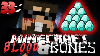 Minecraft FTB Blood and Bones 33 - INFINITE DIAMONDS?!