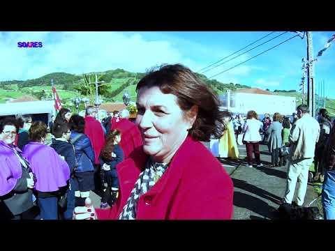 Procissão de Santo Santo Antão na freguesia dos Flamengos, ilha do Faial - Açores, 2019