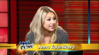 [HD] Anna Kournikova Interview On Live With Regis & Kelly 09-20-2011 (Part 1)