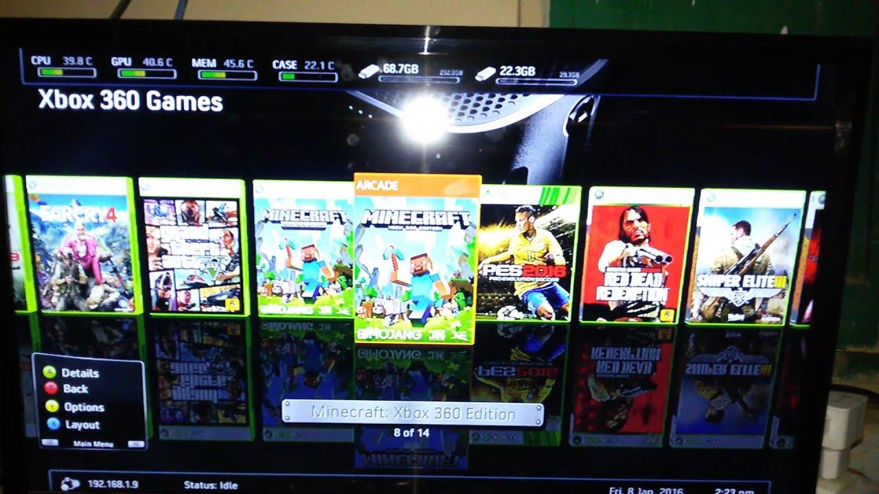 Mri Jtag Xbox 360 All Games Free Urdu Youtube