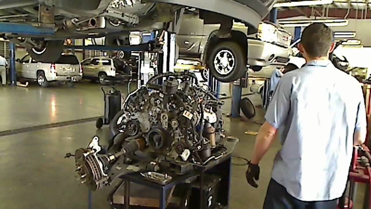 How To Take An Engine Out OF A Car GMC Acadia, Buick ...