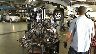 How To Take An Engine Out OF A Car GMC Acadia, Buick Enclave, Chevrolet Traverse