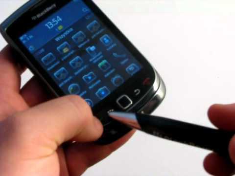 BlackBerry Torch 9800 - prezentacja urządzenia