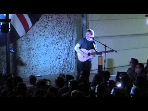 Ed Sheeran - The A Team - Afghanistan
