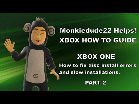 How to fix the Xbox One disc install stopped error & slow install issues. Part 2
