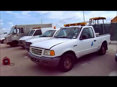 GovDeals: 26796/ 2003 Ford Ranger XL Short Bed 2WD - 314A. W