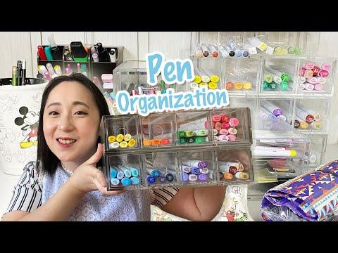 9 Pen & Markers Organization Ideas