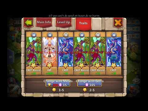 Castle Clash Grim Fiend Augment Blade Knight