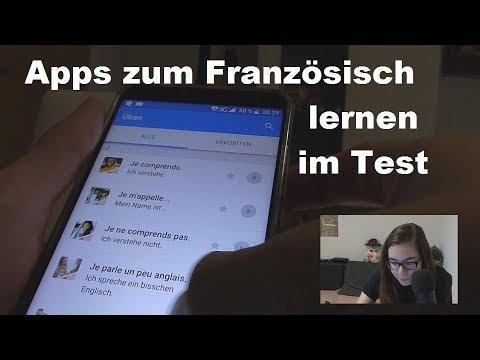 ASMR - Französisch lernen mit Apps (speaking german and french)