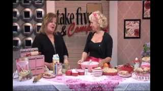 Wzzm Take Five - Mommy's Rhubarb Custard Pie - May 2013