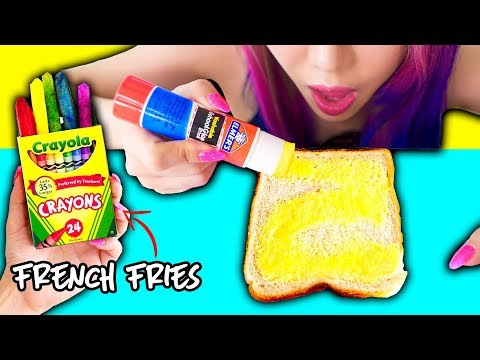Thumbnail: 10 Pranks With Edible School Supplies! Back To School Prank Wars!