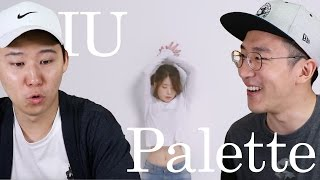 Gambar cover IU-Palette (feat. GD) Korean Reaction!
