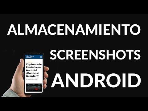 Capturas de Pantalla en Android ¿Dónde se Guardan?