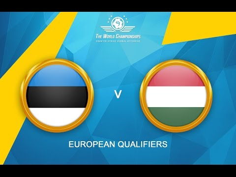 CS:GO - Estonia vs. Hungary[Mirage - Map 1] - The World Championships 2016
