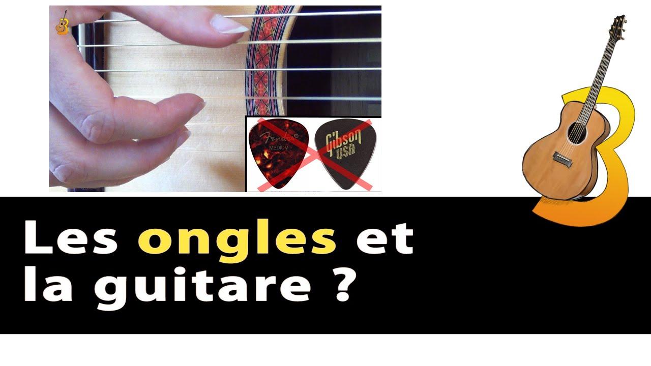 faux ongles pour jouer guitare