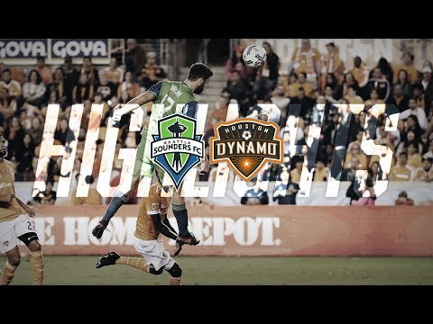 Highlights: the Seattle Sounders defeat the Houston Dynamo 2-0