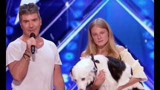 Simon Begs Other Judges To Change Votes For Dog Trainer | Week 5 | America's Got Talent 2017 thumbnail