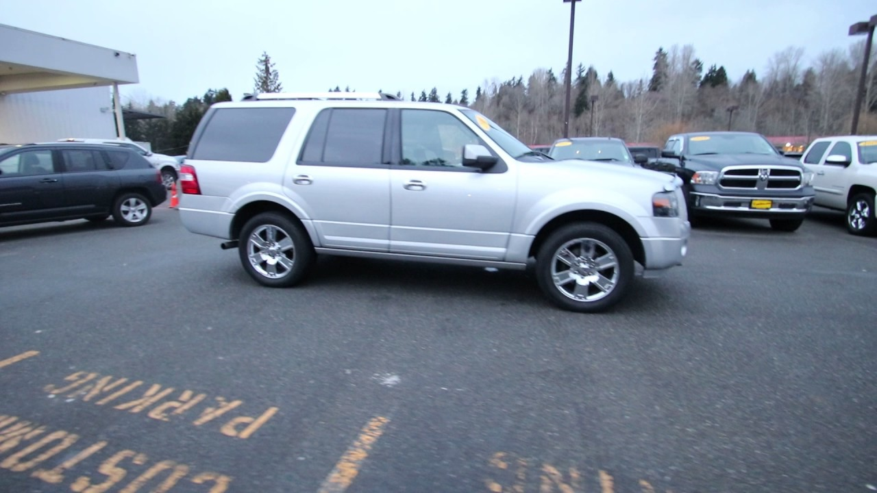 2010 ford expedition limited ingot silver aea20395 redmond seattle