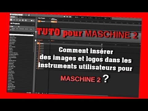 Tuto Ajouter des images et logos aux plug-ins dans MASCHINE 2? How to insert tag in Maschine 2?