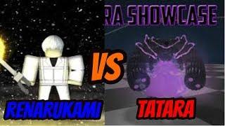 RENARUKAMI VS TATARA | RO GHOUL | ROBLOX