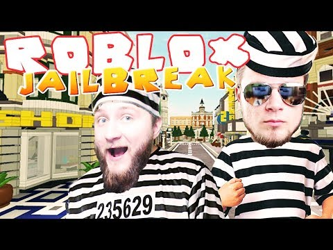 ROBLOX [#27] - WYPRAWA NA MIASTO! | Jailbreak [#2] (With: Diabeuu, Hunter)