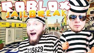 ROBLOX [#27] - WYPRAWA NA MIASTO! Jailbreak [#2] (Con: Diabeuu, Hunter)