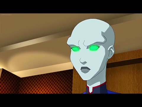 Young Justice Outsiders 3x19 - Meghan Uses Her Powers