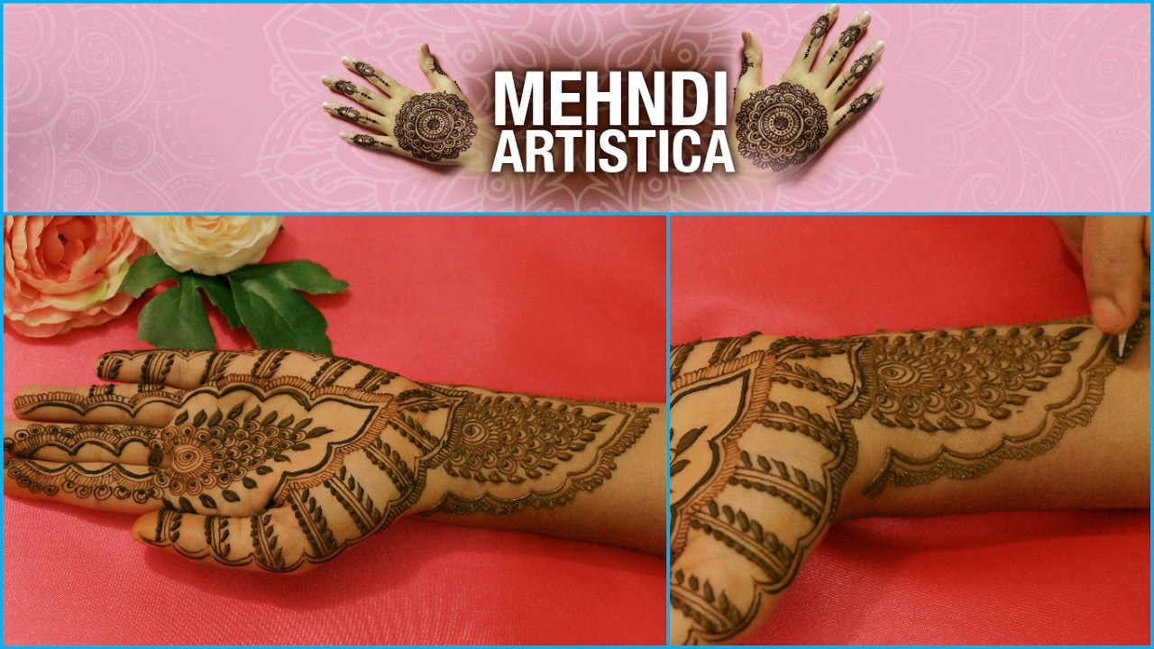 Egyptian Henna Designs: Beautiful Egyptian Heena Mehendi Designs