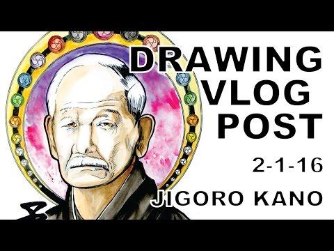 vlog-jigoro-kano-speed-painting