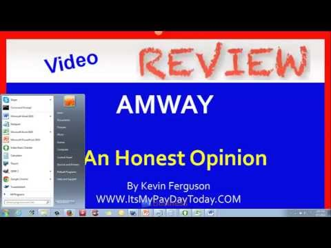 how to make money with amway