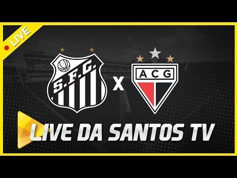 LIVE: SANTOS 3 X 0 ATLÉTICO-GO | COPA DO BRASIL (11/04/19)