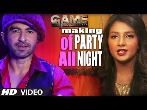 GAME: Party All Night Song Making | Jeet, Subhashree | Bengali Movie 2014