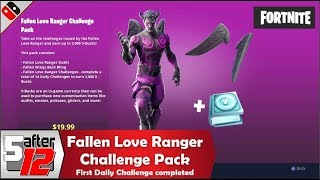Fallen Love Ranger Challenger Pack - Fortnite - 2000 V-Bucks - Nintendo Switch gameplay