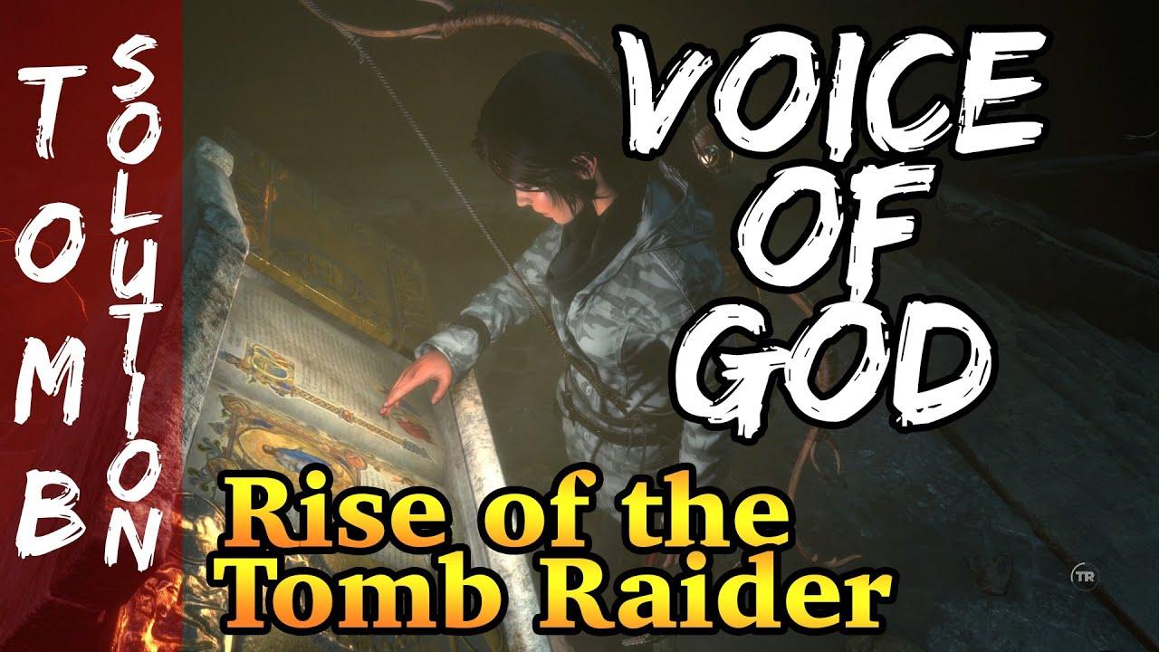 voice of god challenge tomb
