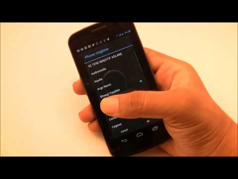 How to Customize / Change The Ringtone On Android Phones (Set MP3 as ringtone)