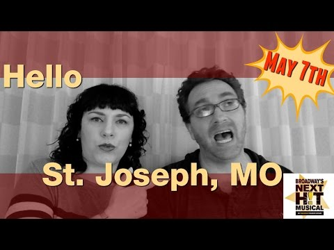 Hello Missouri Theater! From Broadway's Next Hit Musical