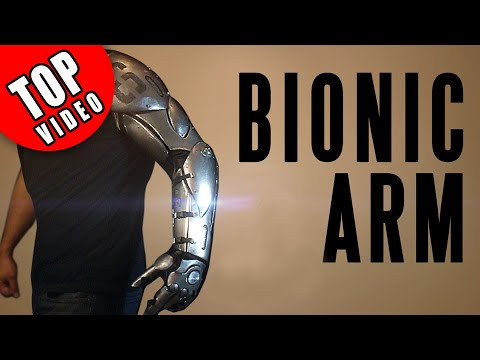 How to Make Armor with Ordinary Tools - Bionic Arm
