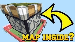 Minecraft: THE ENTIRE MAP IS INSIDE A PISTON BLOCK!!!