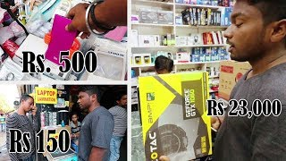 Nehru Place The Wholesale Marker Of Electronic | Cheap Computer | 2nd Hand Laptop | vlog 20