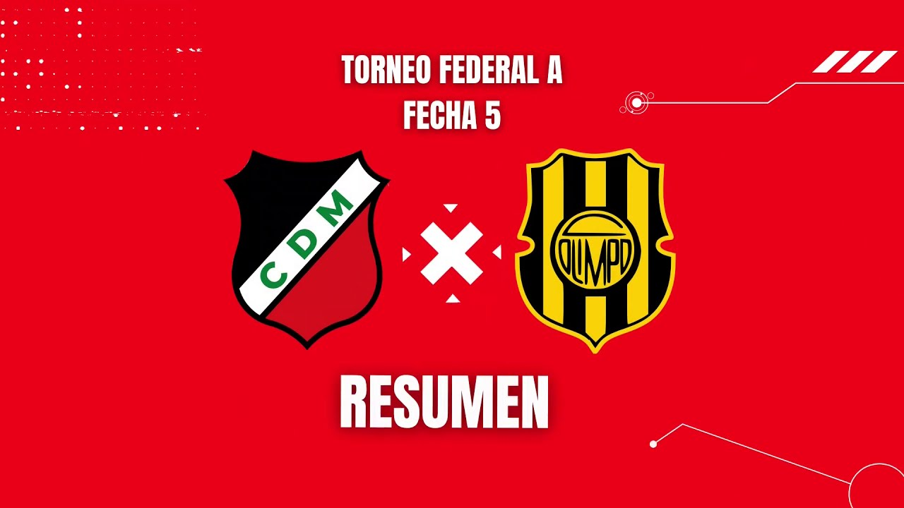 Maipú 0-1 Olimpo - Torneo Federal A Fecha 5
