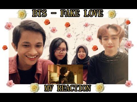 Indonesian React BTS (방탄소년단) 'FAKE LOVE' Official MV