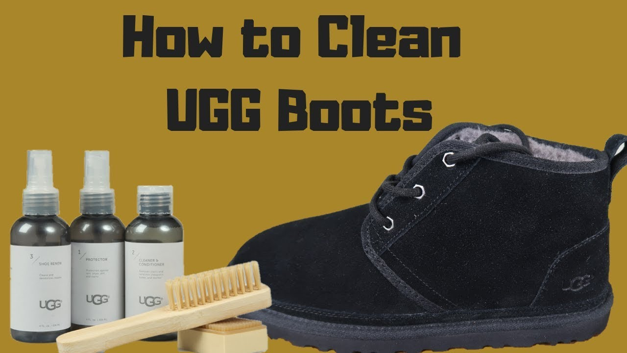 CLEANING YOUR UGG BOOTS WITH THE UGG CARE KIT