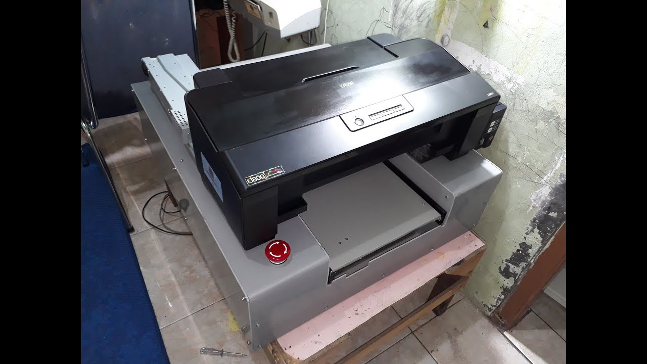 DIY DTG printer plans: Epson Printer L1800 Conversion to DTG